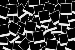 Stock Illustration of blank photo frames