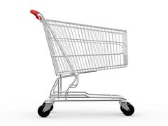 Stock Illustration of empty shopping cart