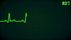 Animated lifeline Stock Footage