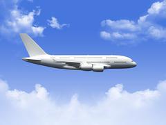 airplane - stock illustration