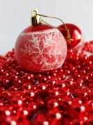 Red Christmas Decoration Stock Photos