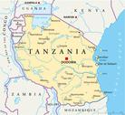 Stock Illustration of Tanzania Political Map