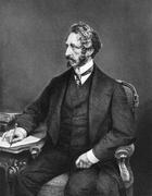 Edward Bulwer-Lytton, 1st Baron Lytton - stock photo