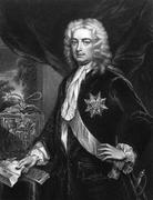 Robert Walpole, 1st Earl of Orford - stock photo