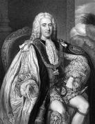 Thomas Pelham-Holles, 1st Duke of Newcastle - stock photo