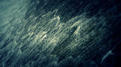 Torrential waterfall & spray. Stock Footage