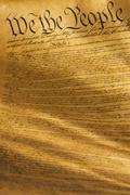 Lähikuva Yhdysvaltain perustuslain Kuvituskuvat