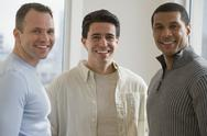 Stock Photo of Portrait of multi-ethnic men