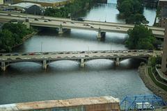 bridges - stock photo