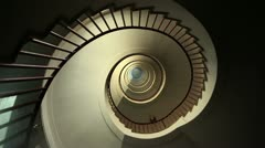 Stil shott of staircase Stock Footage