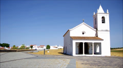 Luz church Stock Footage