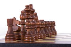 Stock Photo of set of chess pieces