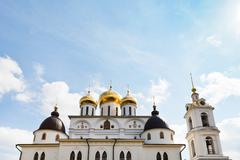 Cathedral of dmitrov kremlin, russia Stock Photos