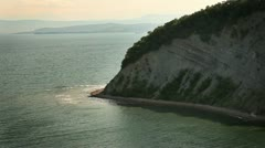 White cliff, near Dover Stock Footage