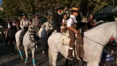 San Pedro feria or fair Stock Footage