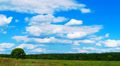 Field cloudscape Footage