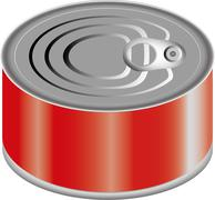 Canned Food - stock illustration