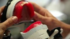 Stock Video Footage of Develop dental prosthetics