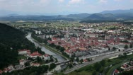 Stock Video Footage of Panoramic shot of Celje