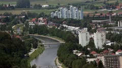 Town of Celje Stock Footage