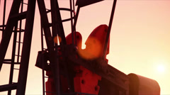Pumpjack - stock footage