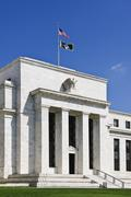 United States federal reserve - stock photo
