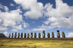 Easter island Stock Photos