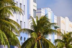 Stock Photo of Art deco buildings