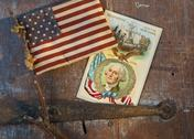 Stock Photo of American memorabilia
