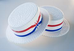 Americana hats - stock photo