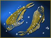 Stock Illustration of Pisces astrological sign