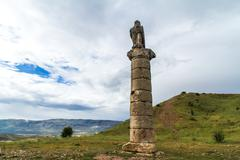 monument grave - stock photo