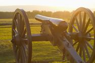 Stock Photo of Civil war cannon
