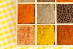 condiments variation. - stock photo