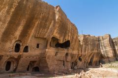 Dara necropolis in mardin Stock Photos