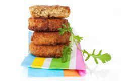 Luxurious falafel background. Stock Photos