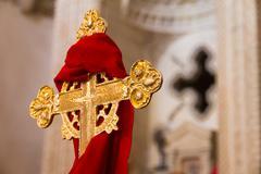 holy cross sign - stock photo