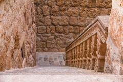 mor gabriel monastery in mardin - stock photo