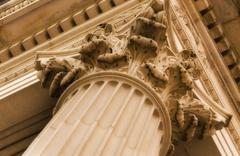 Stock Photo of Corinthian column