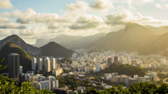Timelapse. Rio de Janeiro / Brazil. Stock Footage