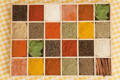 Spices variation. Stock Photos