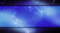 Blues Framed Abstract Looping Abstract Animated Background - stock footage