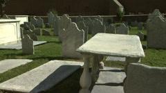 Old Philadelphia Graveyard 2 Stock Footage