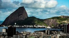 Hypertimelapse. Rio de Janeiro / Brazil Stock Footage