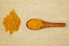 Curry spice. Stock Photos