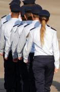israel air force - pilots graduation ceremony - stock photo