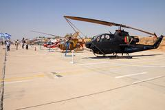 israeli air force air show - stock photo
