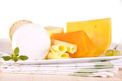 cheese variation. - stock photo