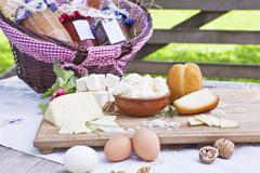 cheese variation. - stock photo