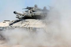 Operation pillar of defense on terror targets in gaza Stock Photos
